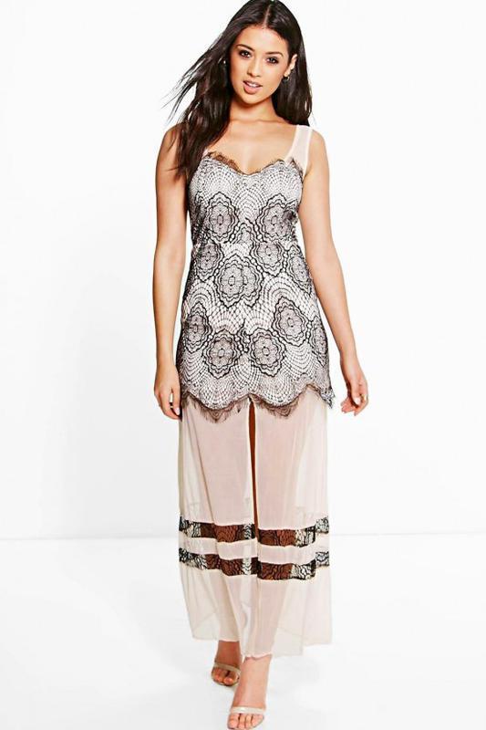 Роскошное нарядное платье boohoo