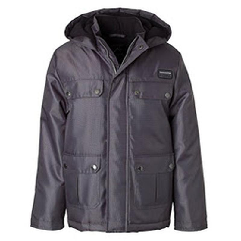 Стильная теплая куртка парка ixtreme oxford parka