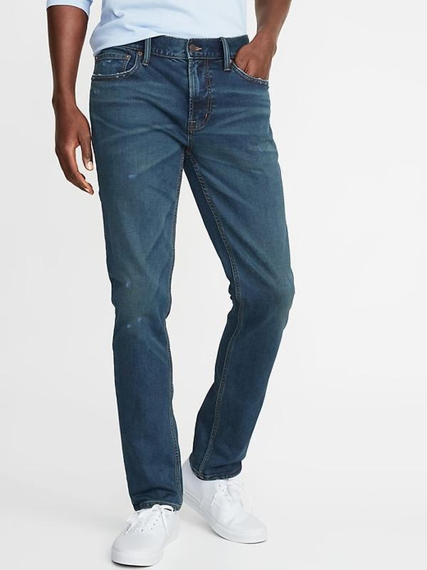 Стильные джинсы old navy на высокого мужчину