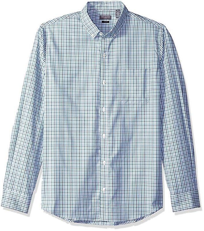 Брендовая рубашка van heusen люкс качество