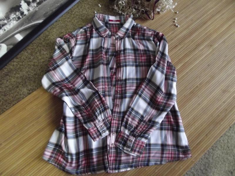 Нежная и мягонькая блуза-рубашка s.oliver