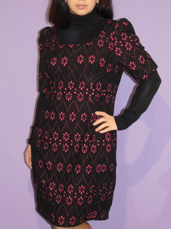 Интересное платье с прошвой 18 размера