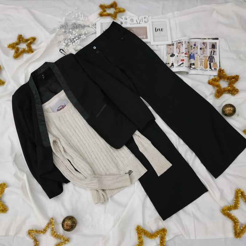 Жакет с кожаными вставками +2 подарка