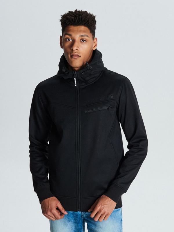 Продам новую мужскую тёплую спортивную куртку с капюшоном