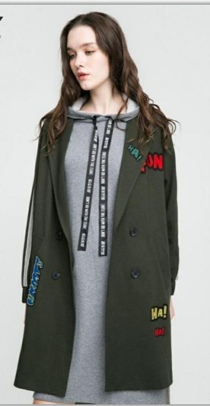 Нове демі-пальто only