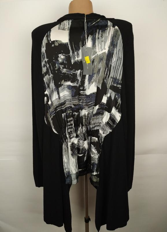 Блуза накидка новая красивая uk 12/40/m