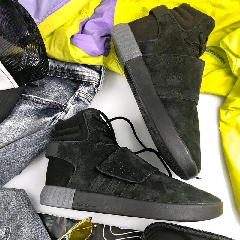 Зимние кроссовки  Adidas Tubular Winter (Код: A032)