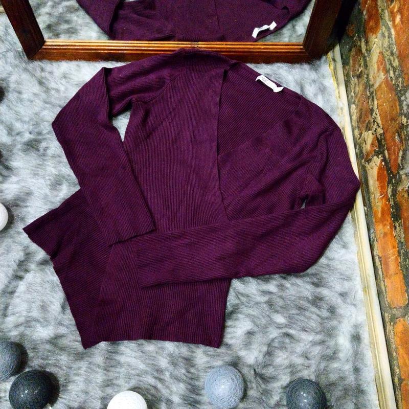 Джемпер свитер кофточка с запахом m&co