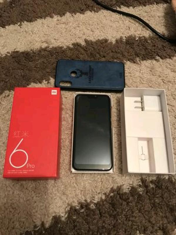 Xiaomi redmi 6 pro. 4/64. Black. - Фото 5
