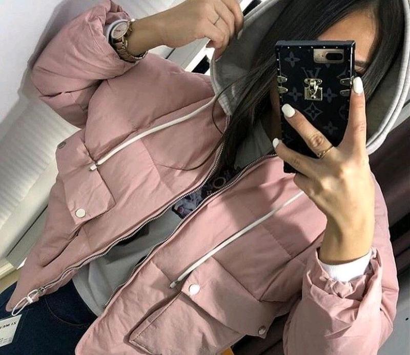 Чорна і розова куртки,нові