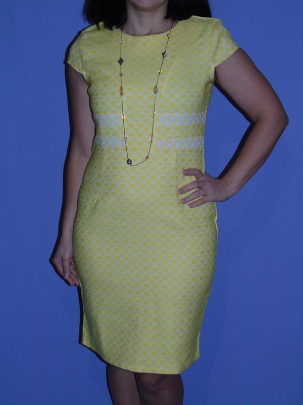 Дизайнерское платье 12 размера от marina kaneva