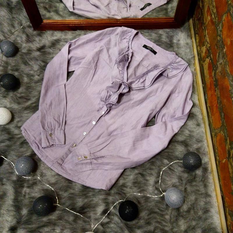 Блуза кофточка с рюшей на лифе reserved