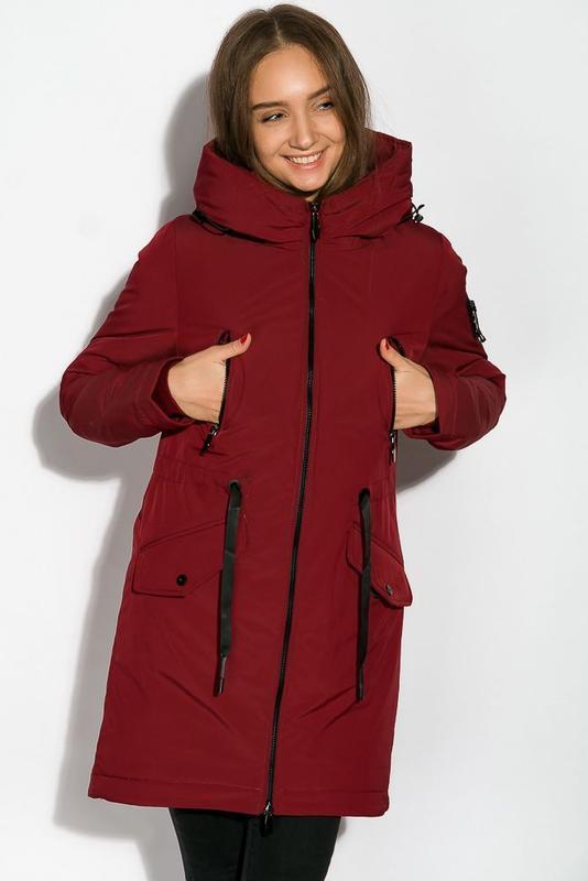 Парка женская, зимнее пальто - Фото 2