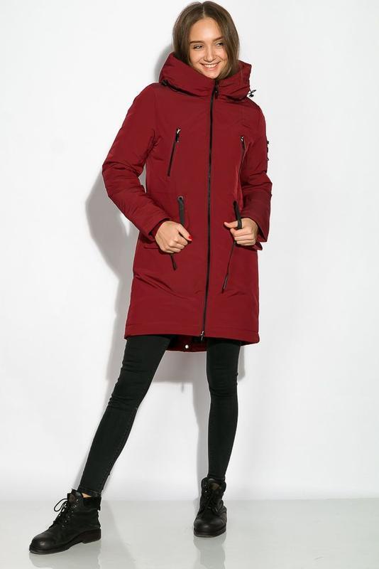 Парка женская, зимнее пальто - Фото 3