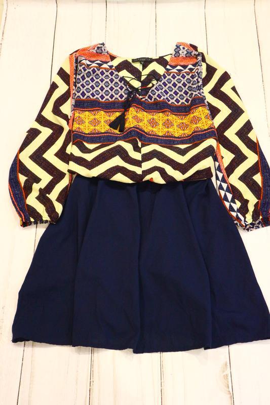 Платье в эффектный принт, l-xxl