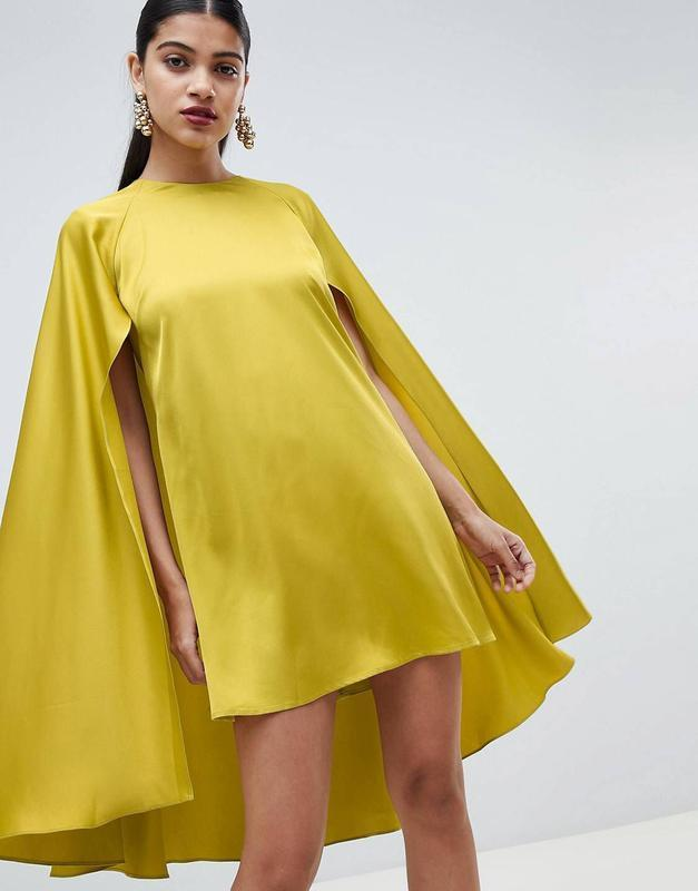 Трендовая блузка-кейп, m-l