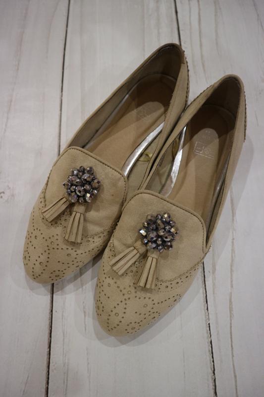 Туфли, экозамш, 39 размер, стелька 25 см.