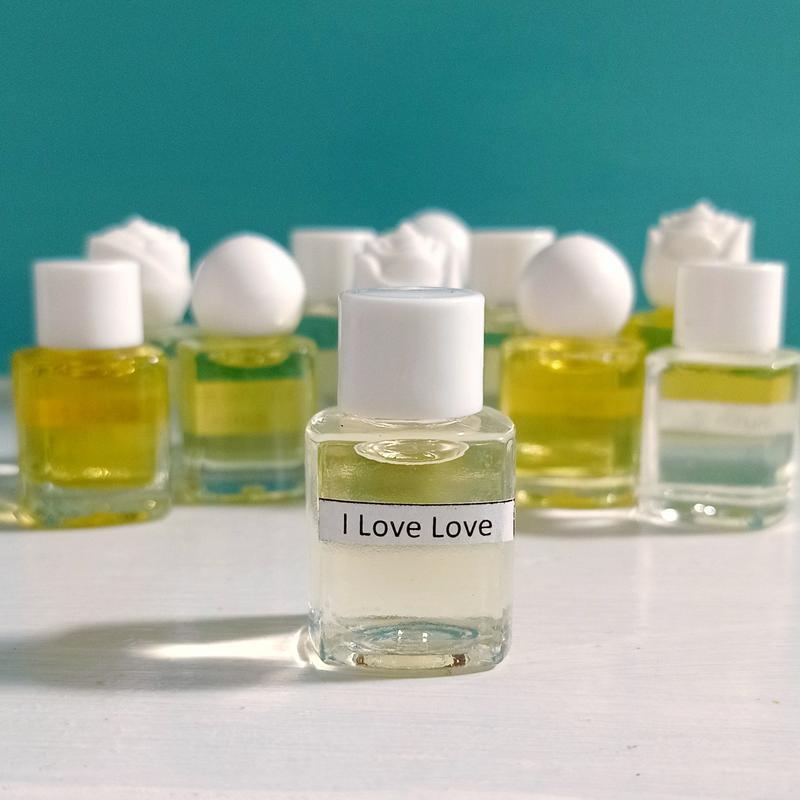Масляные духи на разлив i love love, парфюмерный концентрат