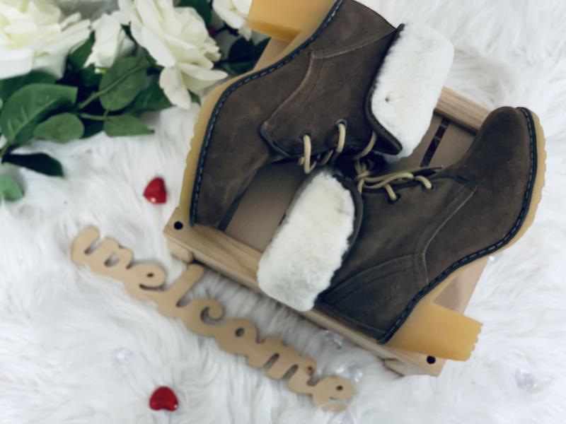 Timberland!женские зимние ботинки!натуральный замш!натуральная... - Фото 2