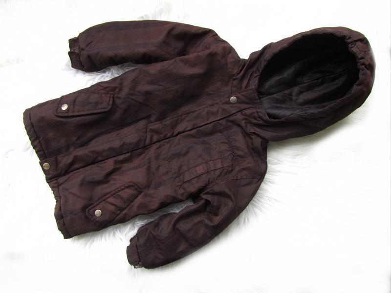 Стильная теплая куртка парка с капюшоном timberland