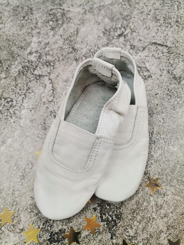 Кожаные чешки белые для девочки и мальчика білі шкіряні чешки ...