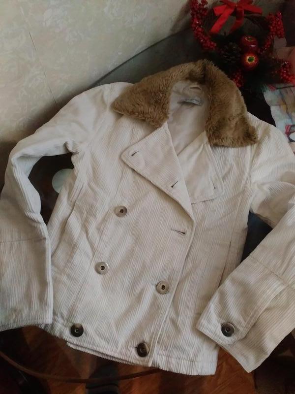 Курточка вельветовая с утеплителем