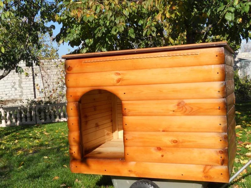 Будка для собак, будка собачья - Фото 2