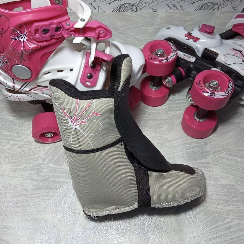 Роликовые коньки детские - Фото 3