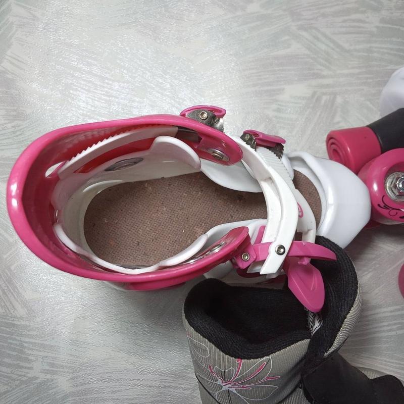 Роликовые коньки детские - Фото 5