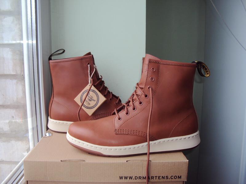 Dr. martens newton 8-eye ● 42р ● кожаные демисезонные ботинки.... - Фото 2