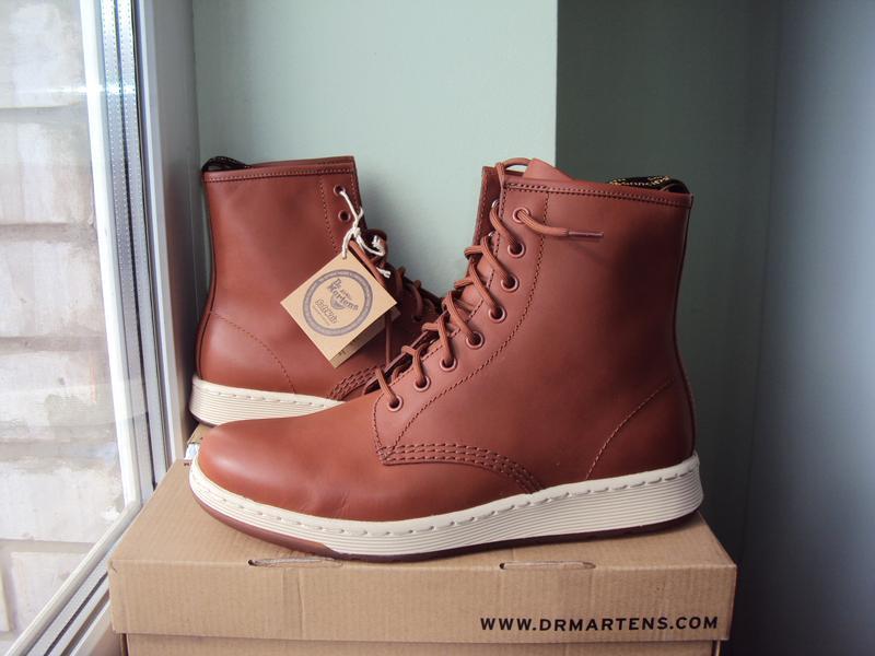 Dr. martens newton 8-eye ● 42р ● кожаные демисезонные ботинки.... - Фото 3