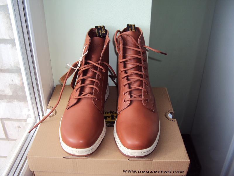 Dr. martens newton 8-eye ● 42р ● кожаные демисезонные ботинки.... - Фото 5