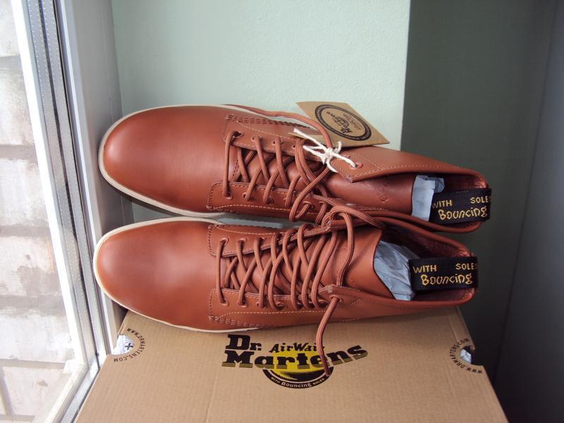 Dr. martens newton 8-eye ● 42р ● кожаные демисезонные ботинки.... - Фото 6