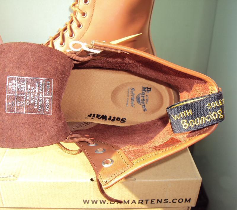 Dr. martens newton 8-eye ● 42р ● кожаные демисезонные ботинки.... - Фото 10