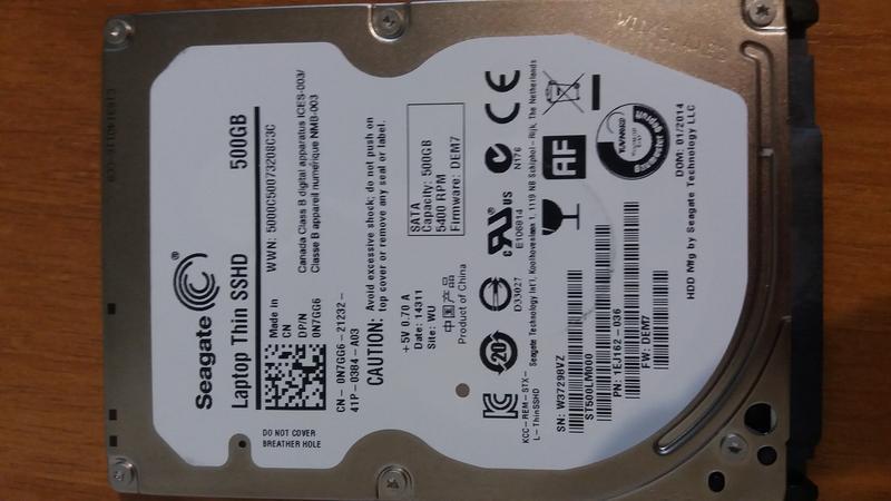 Жесткий диск Seagaite 500gb