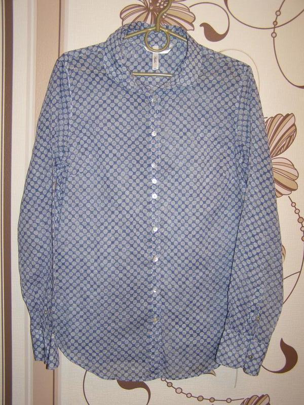 Sophie невесомая рубашка из хлопка, италия , р.44 или р.м - не...