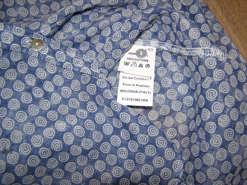 Sophie невесомая рубашка из хлопка, италия , р.44 или р.м - не... - Фото 5