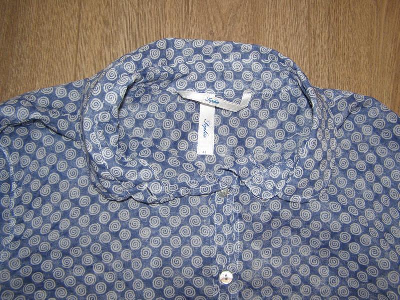Sophie невесомая рубашка из хлопка, италия , р.44 или р.м - не... - Фото 6