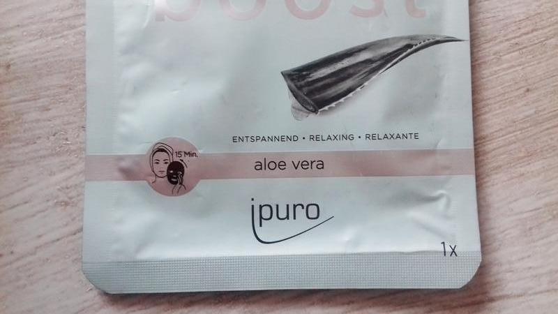 Корейская маска для лица ipuro fleece mask vital boost - алоэ ... - Фото 3