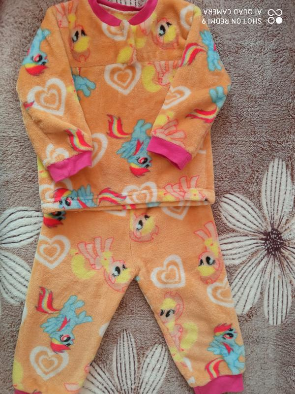 Супер теплая пижама для девочки