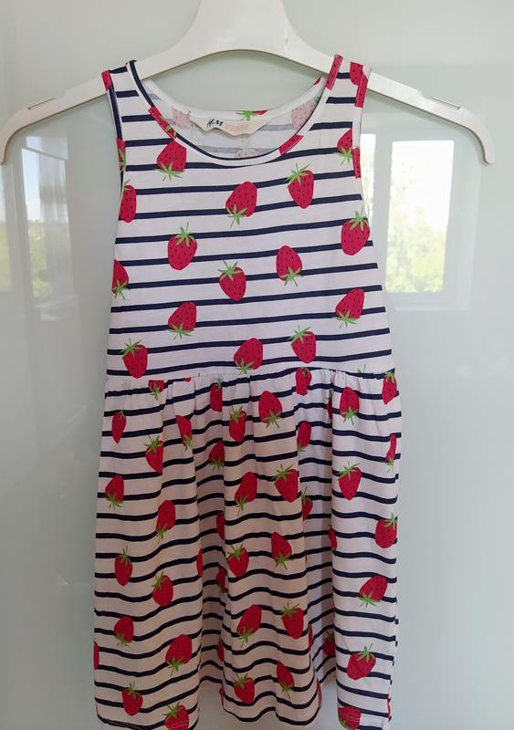Платья плаття сукня сукеннка платтячко с клубничкой