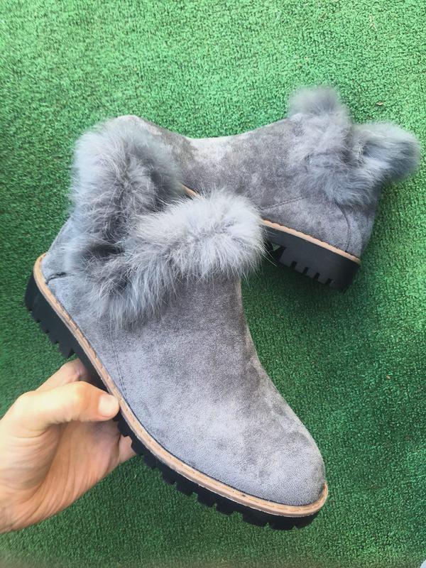 Ботинки - zoom (серые - деми)