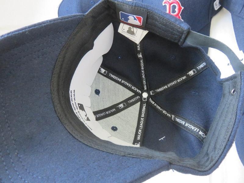 Зимние теплые бейсболки кепки boston red sox от mlb шерсть ори... - Фото 5