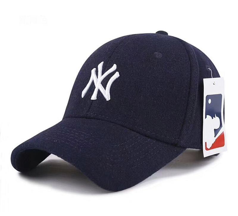 Зимние бейсболки кепки new york mlb шерсть оригинал 2019 г