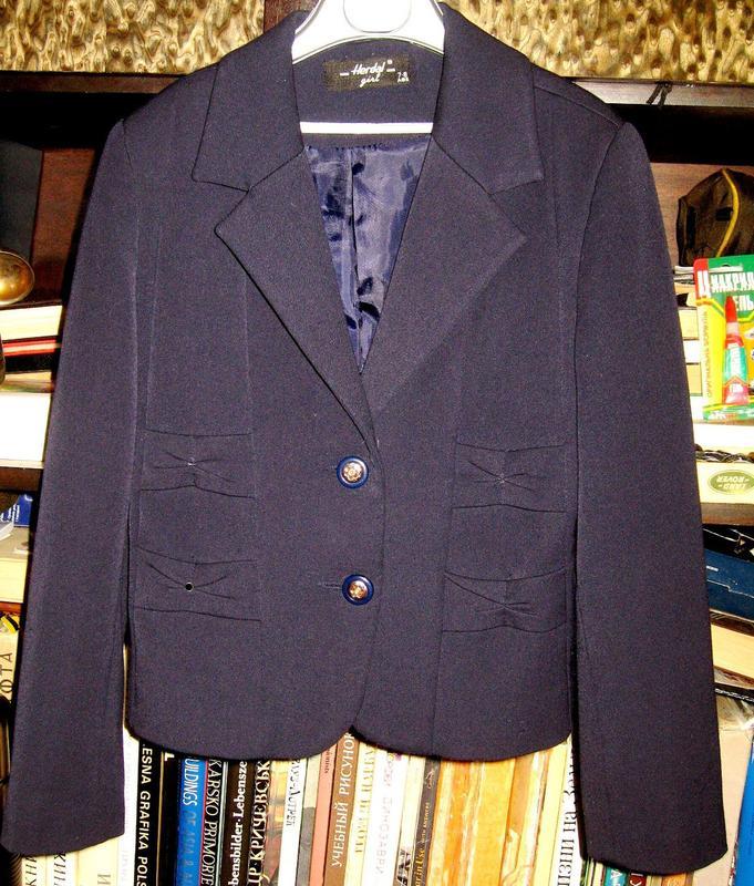 Школьный пиджак для девочки - Фото 2