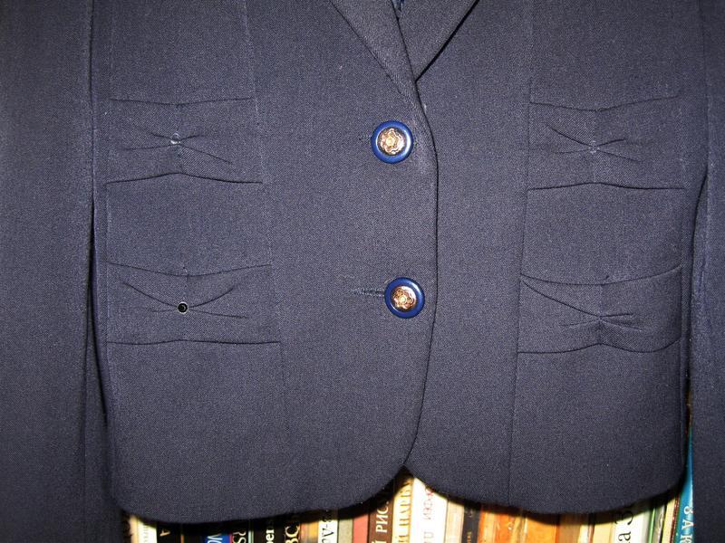 Школьный пиджак для девочки - Фото 4