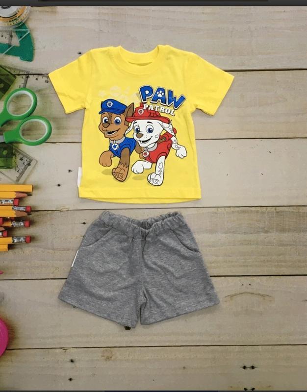 Комплект для мальчика. шорты и футболка