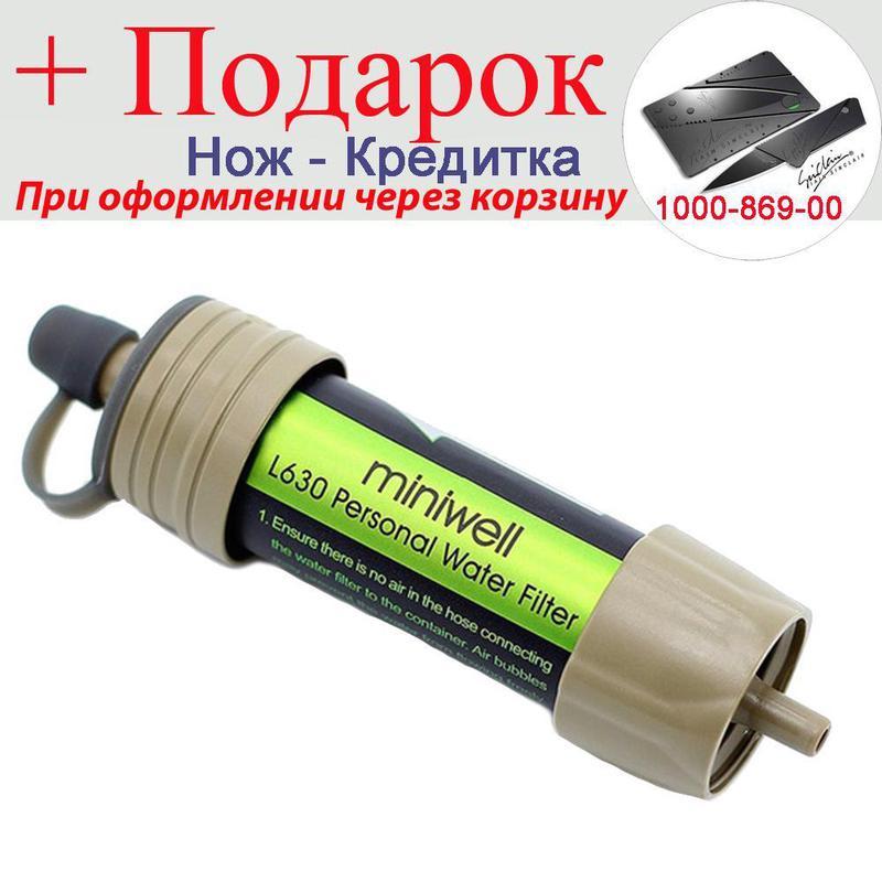 Фильтр для воды Miniwell туристический