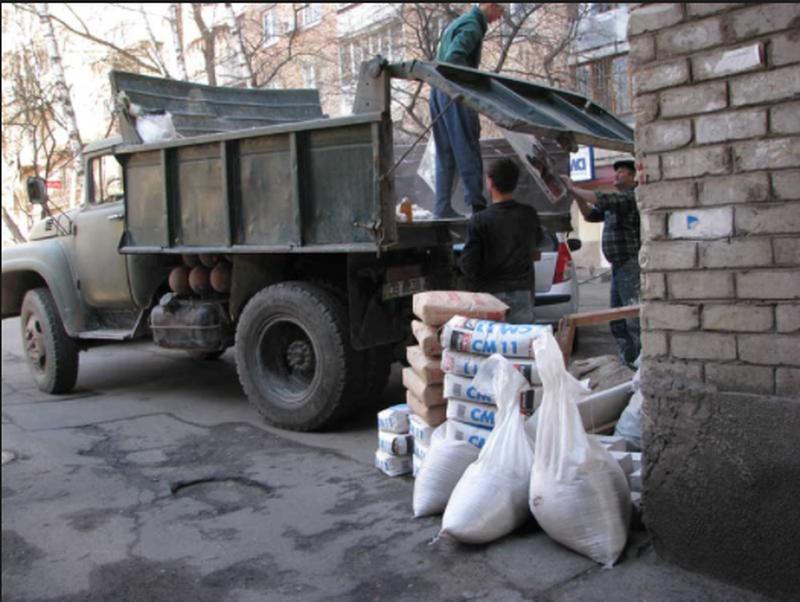 Грузчики:Вывоз старой мебели,хлама и строительного мусора, фас...