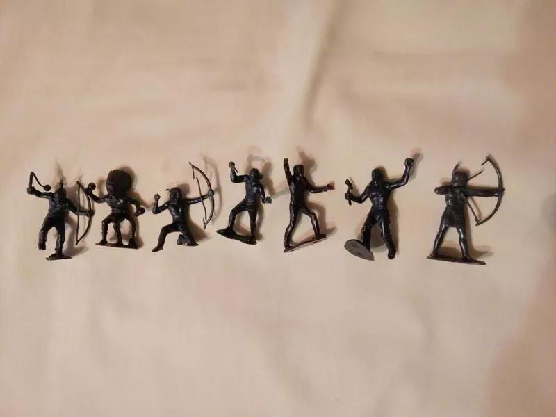 Фигурки солдатиков СССР индейцы - Фото 2